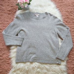 Hekla & Co Cashmere Blend Crew Neck Sweater